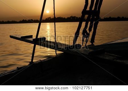 Night Cruise On Egyptian Felucca