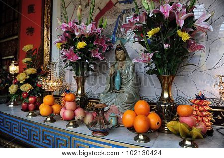 An Offering To Buddha