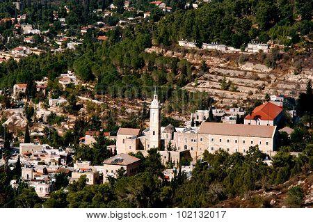 Photo of Ein Karem Village in Jerusalem Israel.