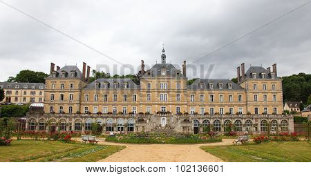 Town Hall Of La Chapelle Montligeon In The Perche Region Of France