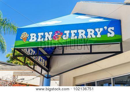 Ben & Jerry's Store Exterior