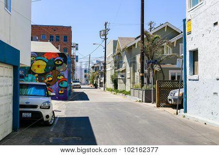 Street in Venice Beach