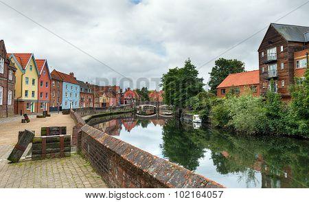 Quay Side In Norwich