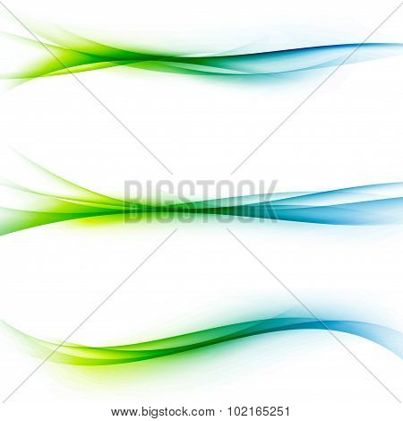 Bright Green Blue Speed Abstract Lines Flow
