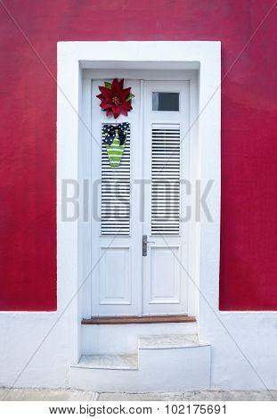 Happy Flower Door