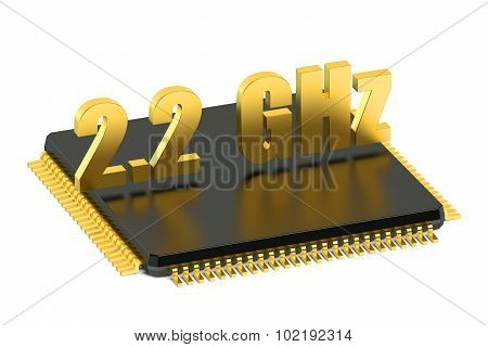 Cpu Chip For Smatphone And Tablet 2.2 Ghz Frequency