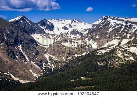 Continental Divide, Rocky Mountain National Park