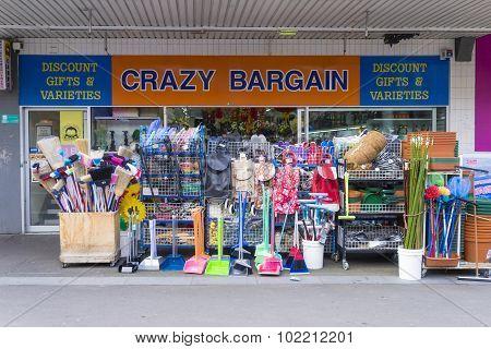 Crazy Bargin Shop
