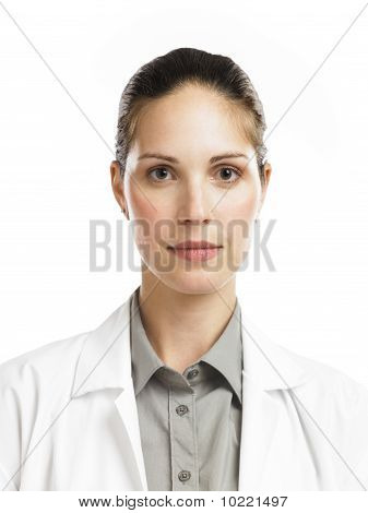 Woman With Lab Coat