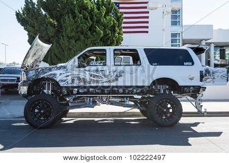 Monster Truck On Display