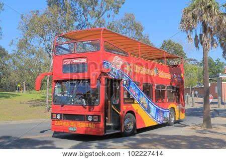 Melbourne tourist bus tourism