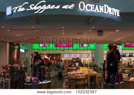 Duty Free Oceandrive Store At Miami International Airport
