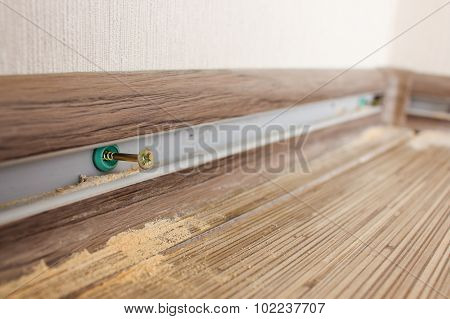 install new baseboards