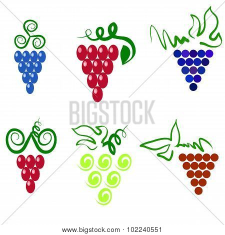Grapes icons