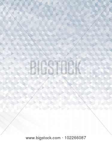 Abstract geometric gray or silver background.