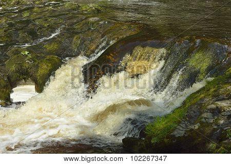 Rapids On Afon Mellte