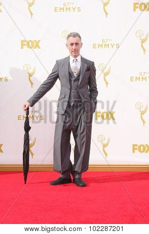 LOS ANGELES - SEP 20:  Alan Cumming at the Primetime Emmy Awards Arrivals at the Microsoft Theater on September 20, 2015 in Los Angeles, CA