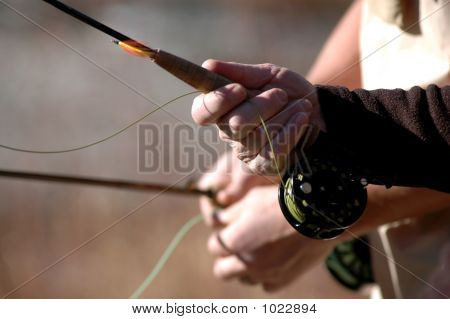 Fly Fishing Proper Grip