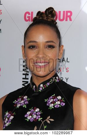 LOS ANGELES - SEP 19:  Dania Ramirez at the 4th Annual Women Making History Brunch at the Skiirball Cultural Center on September 19, 2015 in Los Angeles, CA