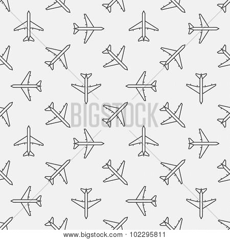 Plane seamless pattern