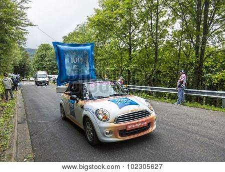 Ibis Budget Hotel Vehicle In Vosges Mountains - Tour De France 2014