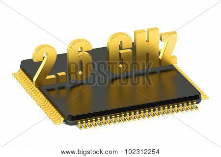 Cpu Chip For Smatphone And Tablet 2.6 Ghz Frequency