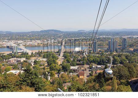 Portland Aerial Tram Public Transportation