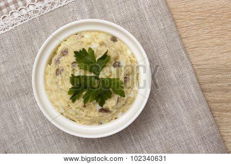 Fish Salad Of Herring - Forshmak