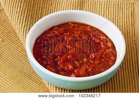 Spicy Onion Chutney