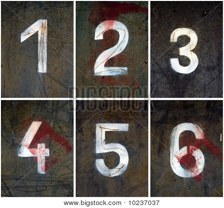Rusty Numbers 1-6