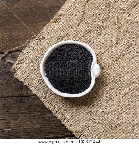 Nigella Sativa Or Black Cumin In A Bowl