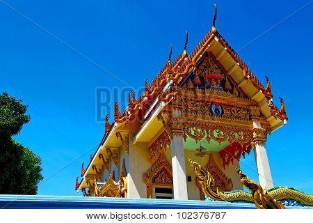Kho Samui Bangkok In Thailand Incision Of The Buddha Plant
