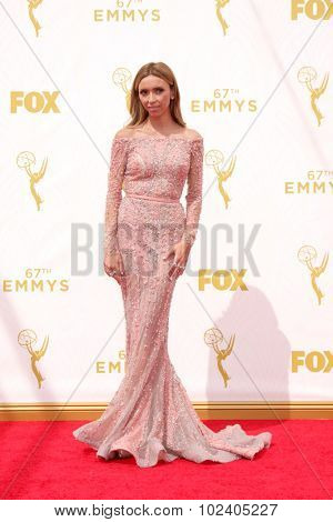 LOS ANGELES - SEP 20:  Giuliana Rancic at the Primetime Emmy Awards Arrivals at the Microsoft Theater on September 20, 2015 in Los Angeles, CA