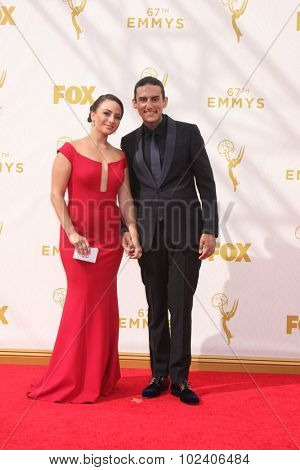 LOS ANGELES - SEP 20:  Richard Cabral at the Primetime Emmy Awards Arrivals at the Microsoft Theater on September 20, 2015 in Los Angeles, CA