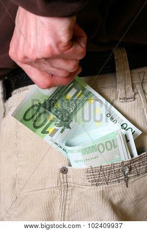 Pocket With Money