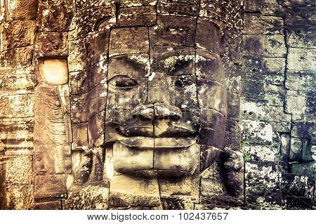 Cambodia icon face