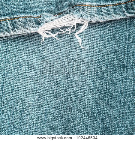 frayed jeans texture