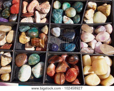 Selection Of Of Semiprecious Gemstones