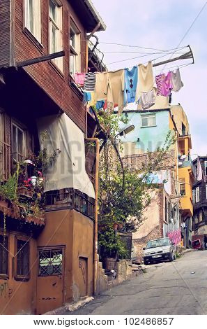 Historical Fatih district in Istanbul