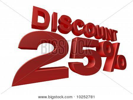 3d render discount percentage