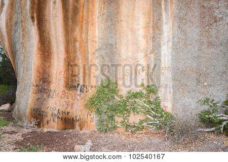 Letterklip (letter Stone) At Garies