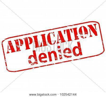 Application Denied