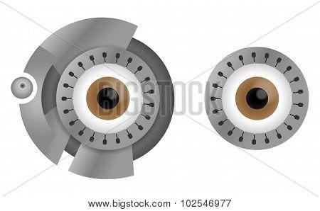 Cyborg eyes