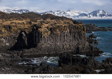 Impressive Volcanic Fjords In West Iceland