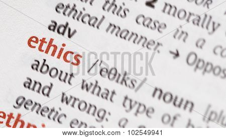 Word  Ethics