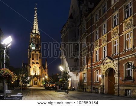 Church Of The Immaculate Conception Of The Blessed Mary In Katowice