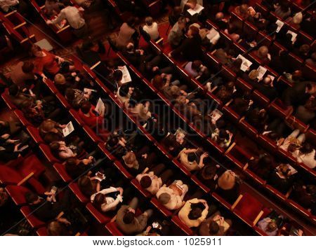 Auditorium With People