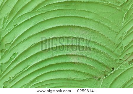 Green cement wall background. Texture cement wall.