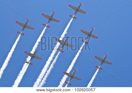 Polish Airforce Formation -