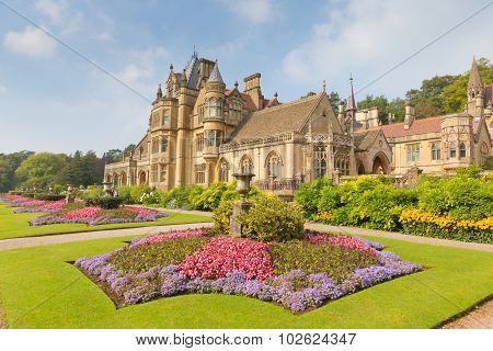 Tyntesfield House near Wraxall North Somerset England UK a Victorian Gothic Revival house and estate